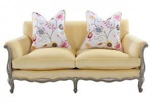 Yellow French Sofa Main
