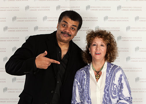 Neil deGrasse Tyson and Allison Moore